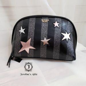💥FINAL SALE Victoria's Secret Black Cosmetic Bag